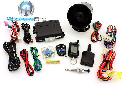 Autopage C3-Rs665-2W 3-Channel 2-Way Pager Engine Start Security Car Alarm New