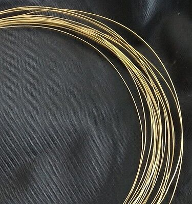20 gauge 0.8mm SOFT SOLID BRASS BEADING WIRE FINDING CRAFT CUSTOM JEWELRY 6ft