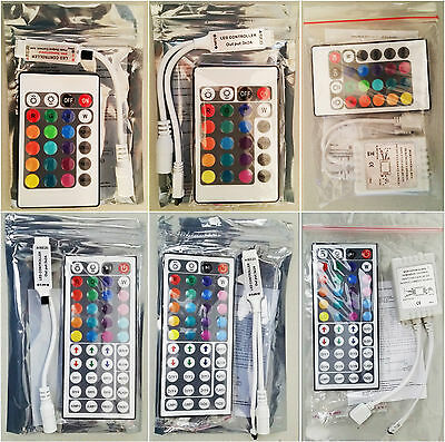 Wireless RGB LED (IR and RF ) Strip Remote Controller - 24KEYS 44KEYS 20KEYS