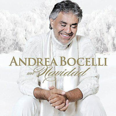 Mi Navidad by Andrea Bocelli (CD, 2013) 15 trks, NEW & SEALED, Classical vocal