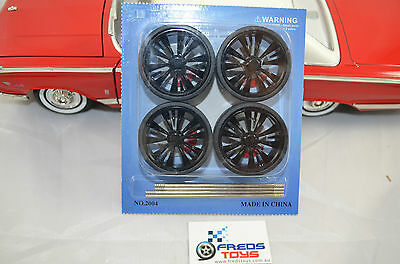 scale BK Wheels and Tyre set ( 4 pcs )