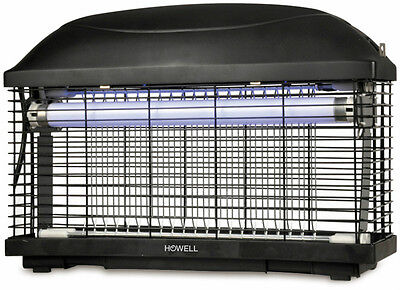 Zanzariera Elettrica Insect Killer In Abs 40 Mq Hika20W Howell