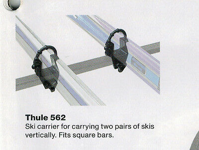 SKI CLIPS hold 2 Pairs of Skies -Suits 30x20 Euro Bar ONLY $29 SET -BRAND NEW