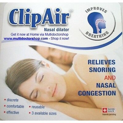 ClipAir - Nasal Dilator and Breathing Aid