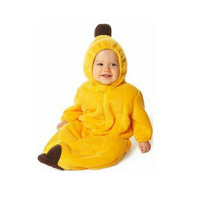 Cute Yellow Banana Baby Clothes Outfit Costume Sleeping Bag Swaddle 0-12Months