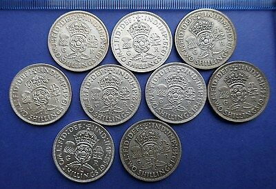 George VI Florins all 0.500 Silver 1937 to 1946 - Choose your date