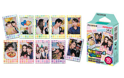 Stained Glass Fujifilm Instax Mini Instant Film 10 Photos For Fuji 7s 8 25 90 US