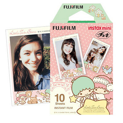 Little Twin Stars Fujifilm Instax Mini Instant 10 Film For Fuji 7s 8 25 50s SP-1