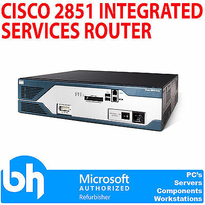 Cisco 2851 Integrated Services Router Wire-Speed Performance - 2800 Series