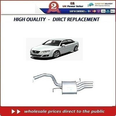 SEAT EXEO 2.0 TDI 2009-on   REAR BACK  EXHAUST BOX