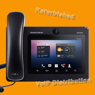 Grandstream GXV3275 Android Full-Touch Telecomputer & Video Telefon, WLAN, SIP