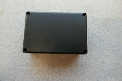 Black Plastic Box 64x43x25mm ABS Project Electronic Hobby (540)