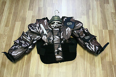 New Goalie Arm Chest Protector Sherwood Size Jr Xl