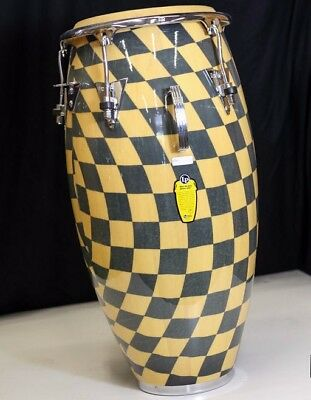 """LP Classic Wood Quinto Checkered (11"""")"""