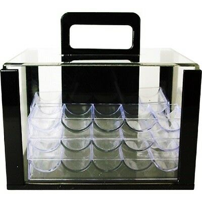 poker chip carrier 600 chip capcity with racks