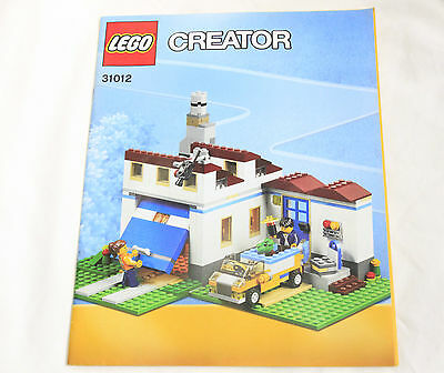 Lego 31012 Creator Family House 100 Complete 4499 Picclick Uk