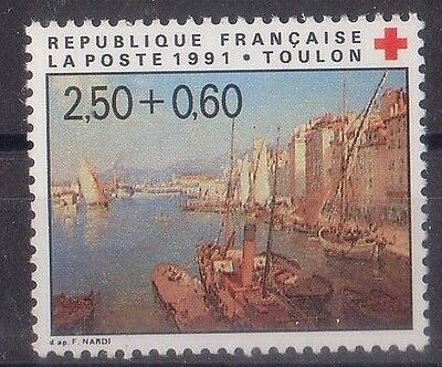 France 1991 Red Cross Mnh