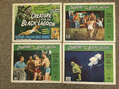 Creature From The Black Lagoon - Original Lobby Card Set - Universal
