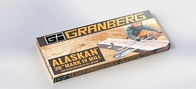 "GRANBERG ALASKAN G776, G781-36  PORTABLE 36"" CHAINSAW SAW MILL SAWMILL Chain saw"