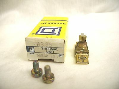 Square D Overload Relay Thermal Unit A3.95 *nib*