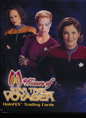 The Women of Star Trek: Voyager HoloFEX