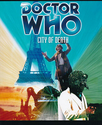 Doctor Who poster photo - 225 - Tom Baker - City of Death