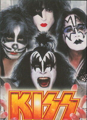 2009 Kiss Ikons - Stickers Complete 12-Card Set