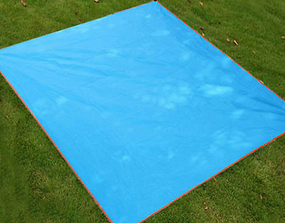 2*2M Waterproof Outdoor Family Picnic Camping Beach Play Mat Rug Blanket Pad