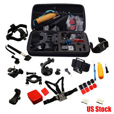 30 All-in-1 Professional Kits Accessories Bundles for Gopro Hero 4 3+ 3 2 SJ4000