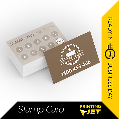 Business Cards [500pcs loyalty Card] 310 micron Thick Loyalty Cards