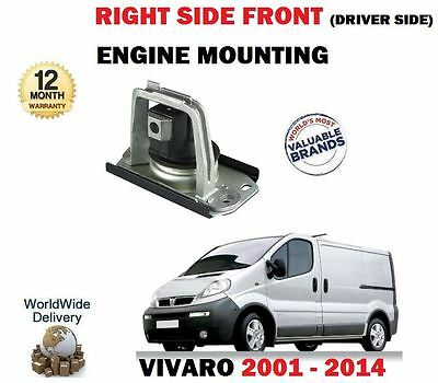 For Vauxhall Opel Vivaro 2001--> New Front Right Driver Side Engine Mounting