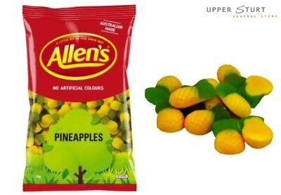 Bulk Allens Lollies – Pineapples 1.3kg Bulk Sweets. FAST 'N FREE DELIVERY