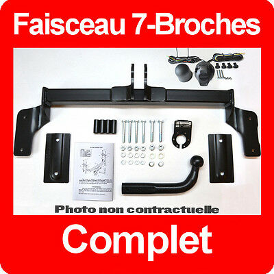 Mercedes Vito 2003-2005 W639 Attelage fixes rigide + Faisceau 7 broches