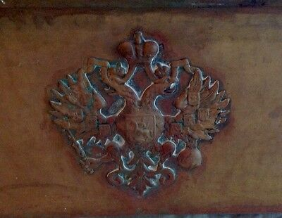 Russian Imperial Double Headed Eagle Pre 1917 Arts And Crafts Jardiniere