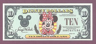 "Disney Dollar "" DEMISE"" The end of an era  1987 – 2016 RIP  See Description"