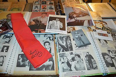The Ultimate Elvis Presley Collection!!! 6 Binders Full Of Pictures, Etc!!!