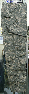 Us Army Gi Digital Acu Fr Trousers Pants Flame Resistant Various Sizes New