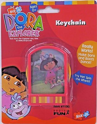 DORA the Explorer Dancing Action Keychain Keyring Toy Nick Basic Fun NEW Retired