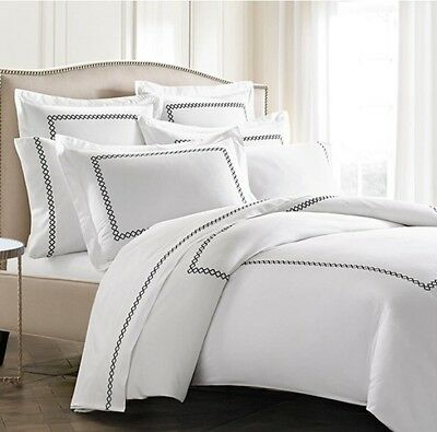 NEW KASSATEX LUXURY Letto Tivoli King Size 3pc Duvet Cover and 2 ...
