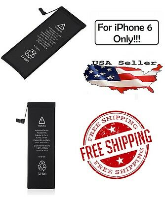 Replacement 1810mAh Li-Ion Battery w/ Flex Cable For Apple iPhone 6