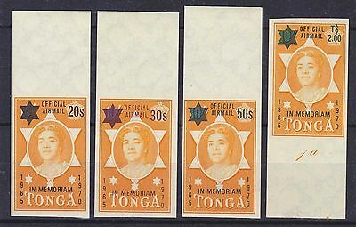 Tonga 1971 5Th Death Anniv. Of Queen Salote Ovp. Mnh M4153