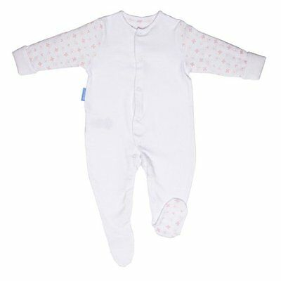 GroSuit BBA14409 Pink Hearts Twin Pack Pigiama, Multicolore, 6-9 Mesi