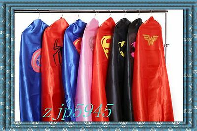 Adult Superhero Cape and masks Halloween Costume Party Favors..