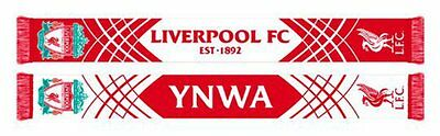 Liverpool Supporters Scarf- 100% Official Licensed Product
