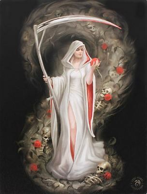 """Life Blood Canvas Plaque by Anne Stokes 10"""" x 7"""""""