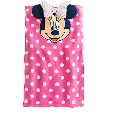 Disney Store Minnie Mouse Baby Beach Bath Towel Girls Swimwear Gift New
