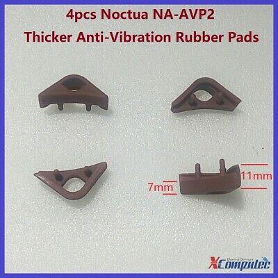 Noctua Chromax Anti-Vibration Rubber Fan Mount Set - 8 Pack - Brown  NA-AVP1
