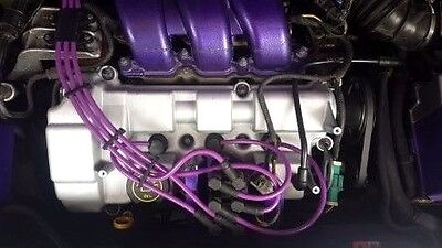 PURPLE 8MM PERFORMANCE IGNITION LEADS TO FIT MONDEO ST220 MKIII 3.0i V6 24V  HT.