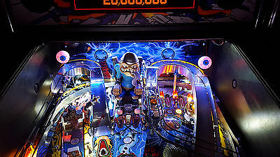 Lighted Eyeball - Metallica, Twilight Zone, Scared Stiff Pinball