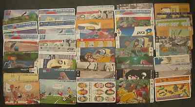 Israel Lot Of 50 Different Telecard Phonecards